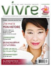 Antoinette Layoun, Magazine Vivre, Mars 2013