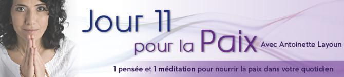 Jour 11 – 21 jours pour la Paix