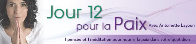 Jour 12 – 21 jours pour la Paix