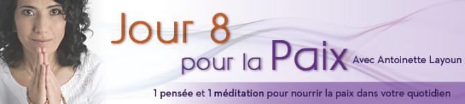Jour 8 – 21 jours pour la Paix