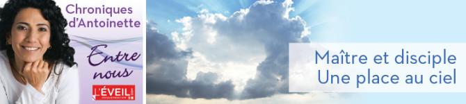 Maître et disciple – Une place au ciel