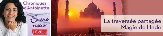 La traversée partagée – Magie de l'Inde