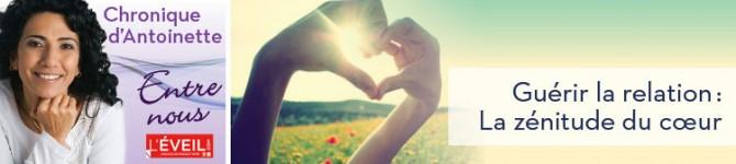 Guérir la relation: La zénitude du cœur