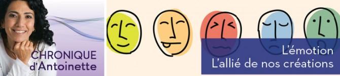 L'émotion – L'allié de nos créations