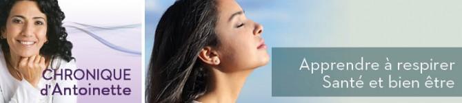Apprendre à respirer – Santé et bien être