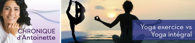 Yoga exercice vs Yoga intégral