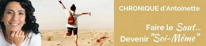 Faire le saut… Devenir «Soi-Même»