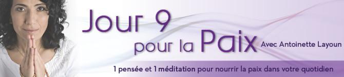 Jour 9 – 21 jours pour la Paix