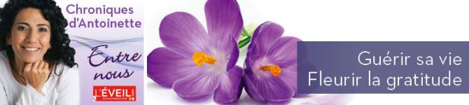 Guérir sa vie  –  Fleurir la gratitude